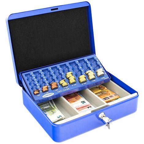 Rottner Caisse à monnaie Wien Bleue