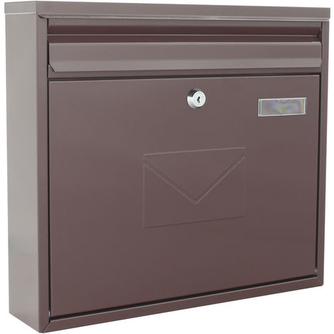 Rottner Letterbox Teramo Brown