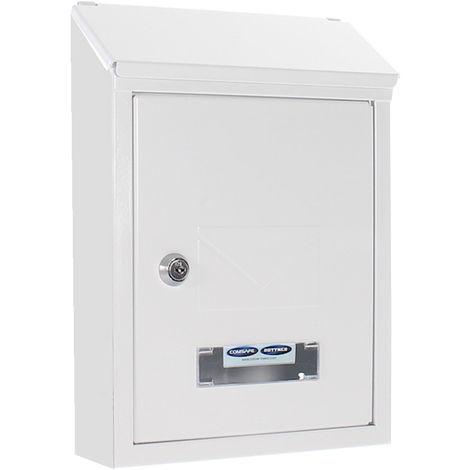 Rottner Udine White Mailbox