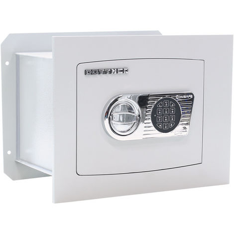 Rottner Wall Safe Delta 30 Electronic Lock Light Grey
