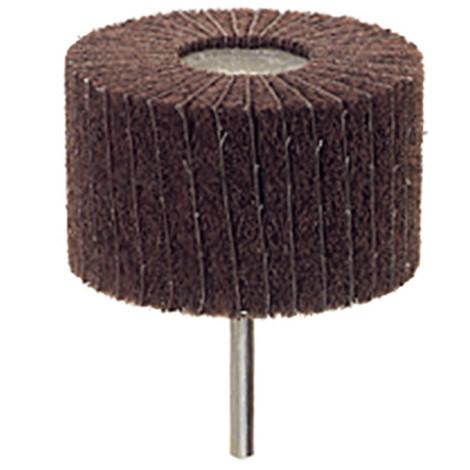 Roue à lamelles abrasive en nylon et toile Emery D. 50 x 25 mm Grain 150 Q. 6 mm - 359.46 - PG Professional - -