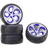 Roue adaptée pour circulation sur route Reely 5 rayons jante et pneus (P8NWB+Racing)