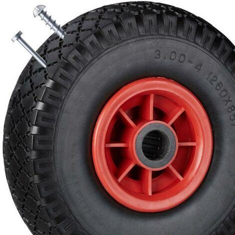 Roue de Chariot / Diable Increvable 3.00-4 (260x85) 160Kg Ø 20mm