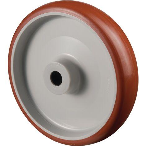 Roue de rechange pour A30 Ø de la roue 150 mm Capacité de charge 2 polyuréthane Ø d'axe 15 mm Longueur du moyeu 44 mm