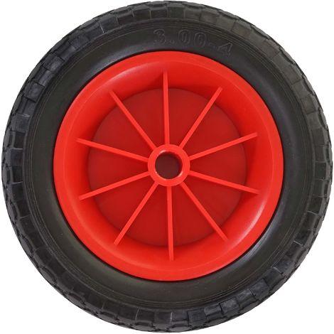Roue de rechange pour chariot, pneu, diable de transport, roue PU 260x80 mm