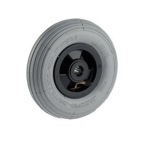 Roue gonflable diamètre 200 x 50 mm alésage 20 mm pneumatique non marquant