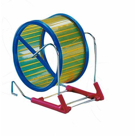 Roue hamster métal/plastique 15cm