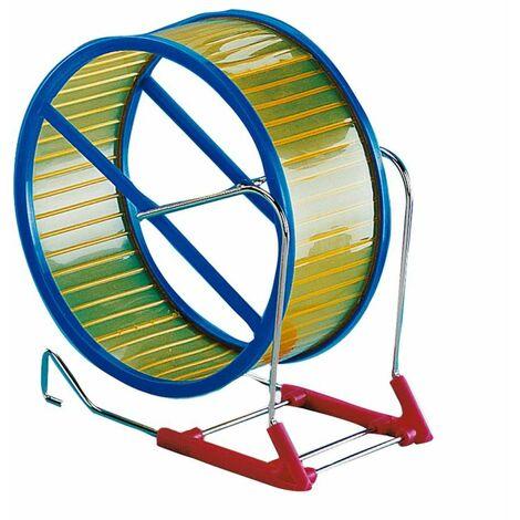 Roue hamster métal/plastique 20cm