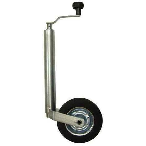 Roue jockey classique diamètre 60mm pour remorque