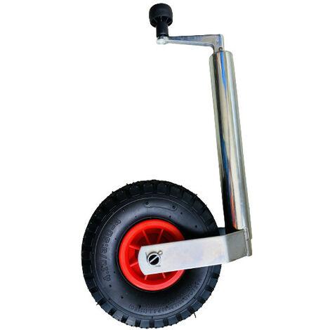 Roue Jockey Gonflable - Diam 48 mm - 136KG