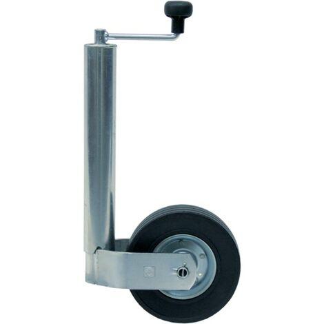 Roue jockey télescopique 150kg 48mm de diamètre