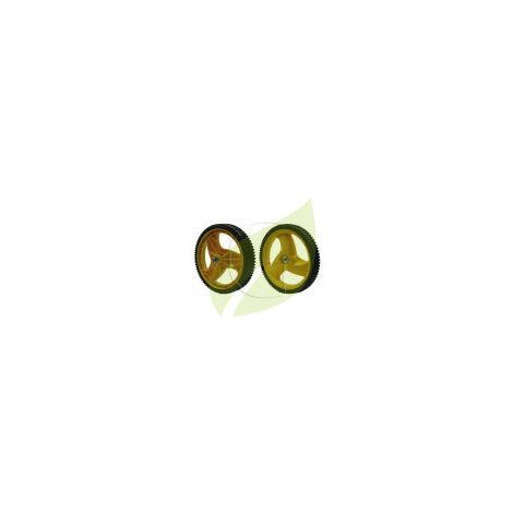 Roue tondeuse HUSQVARNA 532403509 - M4553 P4553 M5553 M653D
