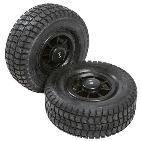 Roues pneumatiques pour cric