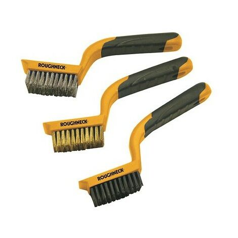 Roughneck 52-012 Wide Brush Set of 3