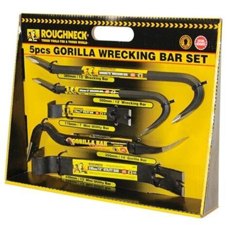 "main image of ""Roughneck 64961 5 Piece Gorilla Bar Set"""