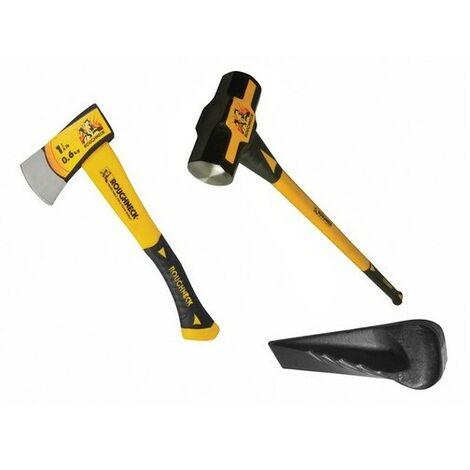 1.36-3.18kg Silverline 887115 Hammer Wedge 3pce 3-7lb