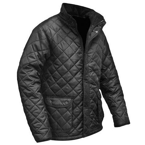 edea965b2cca Roughneck Clothing Black Quilted Jacket