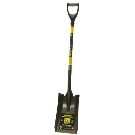 Roughneck Square Shovel 36 inch D Handle