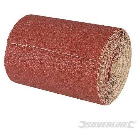 Rouleau abrasif corindon 10 m Grain 120 SILVERLINE 297234