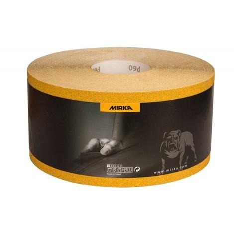 Rouleau Abrasif Gold 115mm x 50m Grain 120-MIRKA