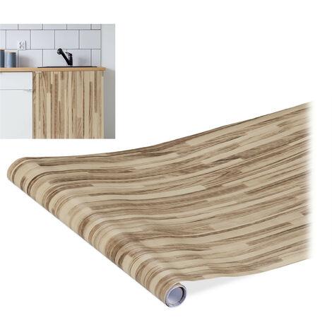 rouleau adhésif mural, DIY, meubles & cuisine, autocollant, PVC, 45 x 200 cm, plusieurs designs & couleurs