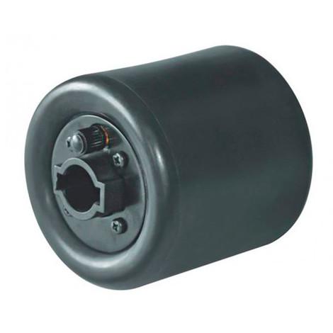 Rouleau caoutchouc à expansion gonflable D. 90 x 100 x Al. 19 mm pour satineuse SM100 - SM100EW-AUFBLASB - Holzmann - -