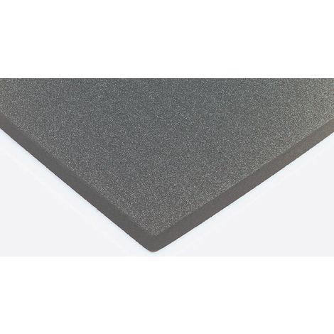 Rouleau d Caoutchouc nitrile Noir, 8m x 1000mm x 25mm