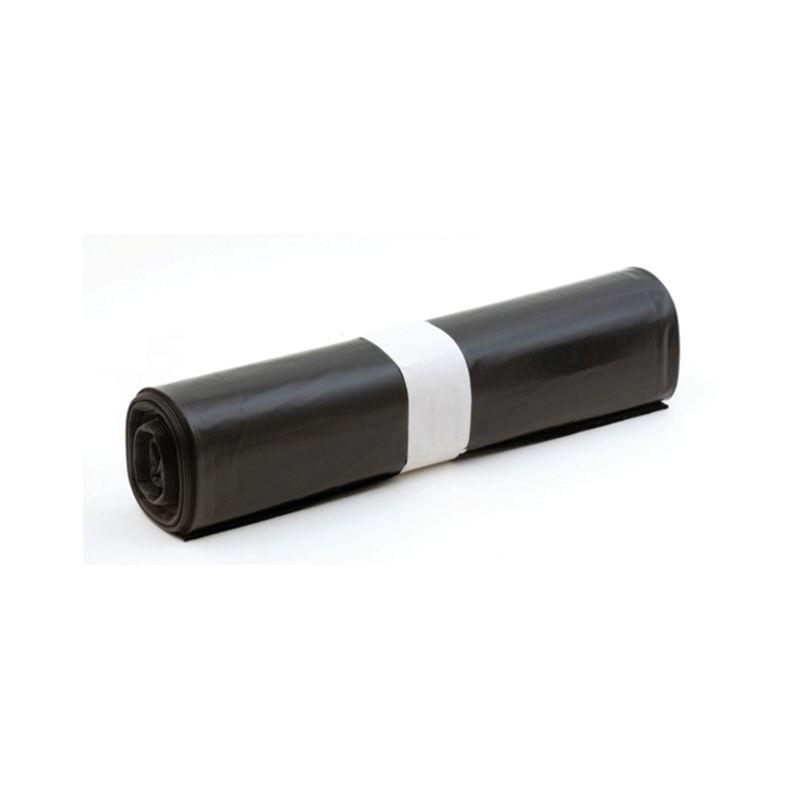 Rouleau de 10 sacs poubelle BD noir 130L 65 microns - 1745
