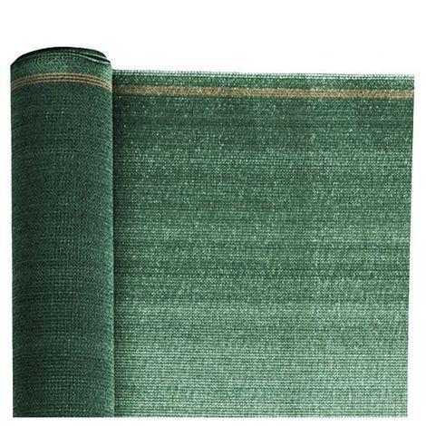 Rouleau de 10ML de Brise vue Toile Renforcée - Ht 1m50 - Vert 6005 - Vert 6005