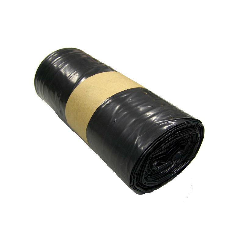 Rouleau de 20 Sacs poubelle 100L noir supérieur 50µ - 1068