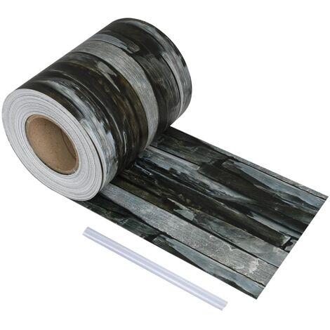 Rouleau de bande de clôture PVC 70x0,19 m Pierre