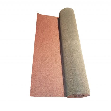 Rouleau De Bardeau Bitume Shingle 10 X 1 M Coloris Rouge Largeur 1 M Longueur 10 M 8405011