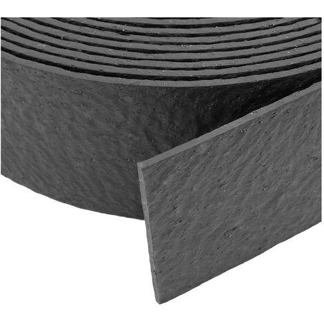 """main image of """"Rouleau de bordure flexible - 18 m x 14 cm x 7 mm avec 10 piquets"""""""
