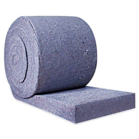Rouleau de coton isolant en jean recyclé LE RELAIS METISSE épaisseur | 600 x 7500 x 50 mm - 4.5 m²