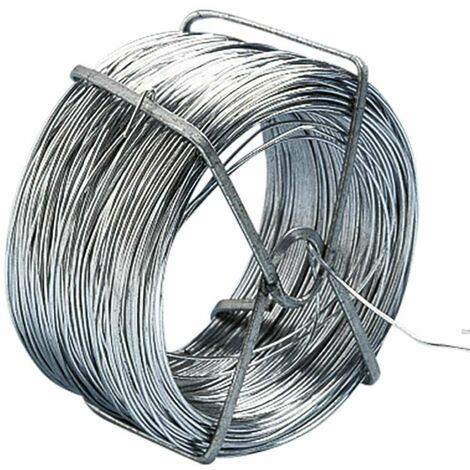 """main image of """"Rouleau de fil de fer galvanise 50 Mètres - Gris"""""""