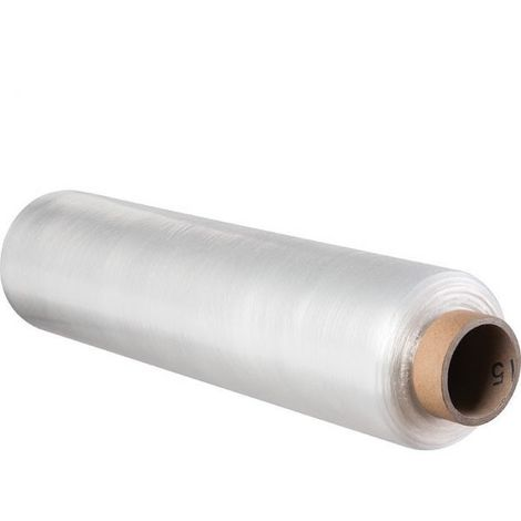 1 rouleau de film étirable NOIR 45 cm x 300 mètres