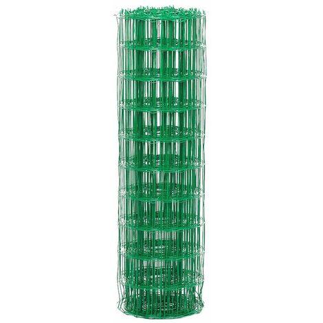 Rouleau de grillage soudé Vert 6005 - 20ml x 1200mm