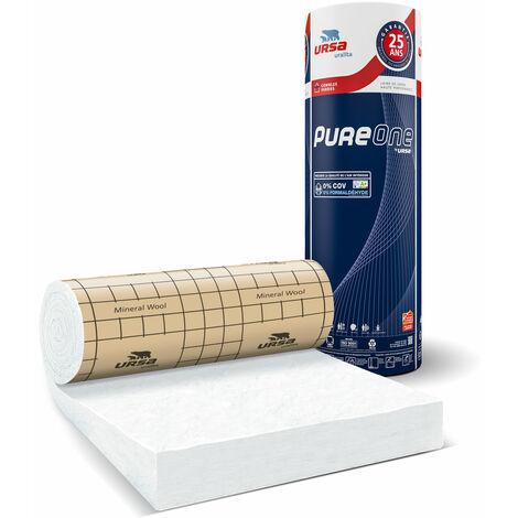 """main image of """"Rouleau de laine de verre PURE 40RP revêtu kraft 5m²40 - 200mm - R 5.00"""""""