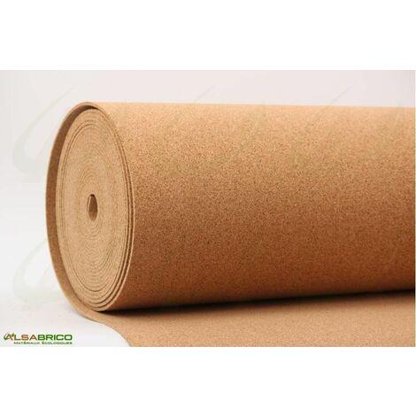 Rouleau de liège, sous-couche isolante haute densité épaisseur 4mm | 4mm - 10 m²
