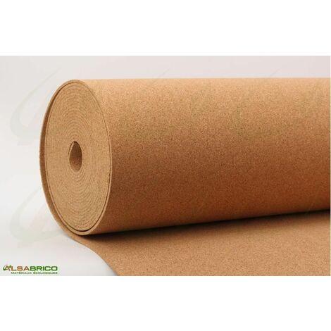 Rouleau de liège, sous-couche isolante haute densité épaisseur 5mm | 5mm - 10 m²