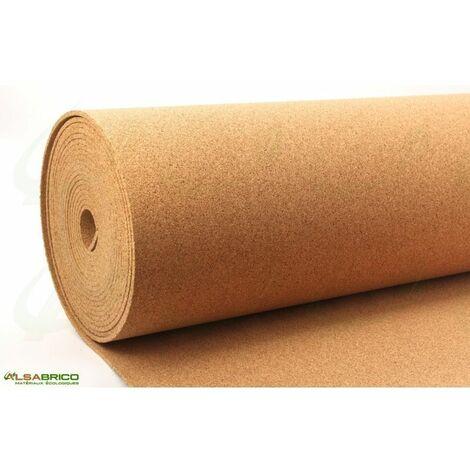 Rouleau de liège, sous-couche isolante haute densité épaisseur 6mm | 6mm - 10 m²