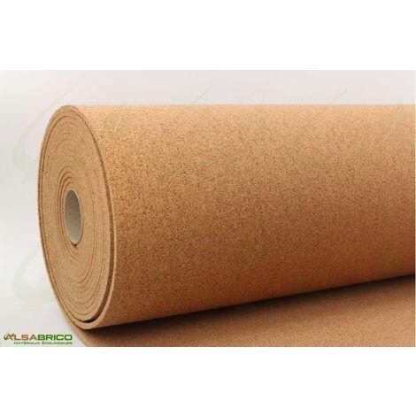 Rouleau de liège, sous-couche isolante haute densité épaisseur 8mm | 8mm - 10 m²
