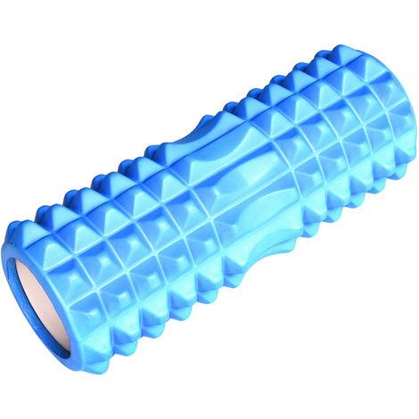 Rouleau De Massage Pour Yoga, 13 Po, Bleu