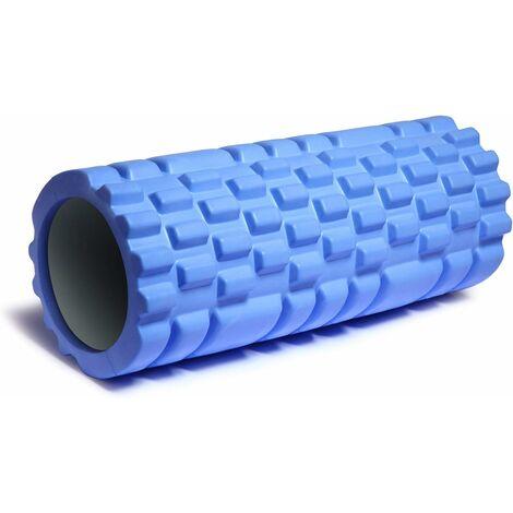 Rouleau de Massage,Foam Roller Mousse EVA Rouleau Sport,Rouleau Fitness Léger Haute densité pour Massage Musculaire en Profondeur- Roller Pilates Fitness Yoga Gym Equilibre