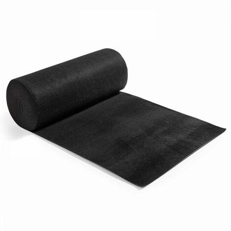 Rouleau de moquette 1x25m noire