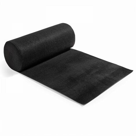 Rouleau de moquette 2x25m noire
