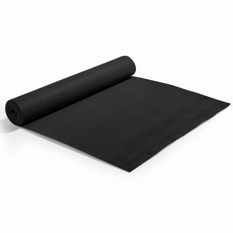 Rouleau de moquette 2x5m noire