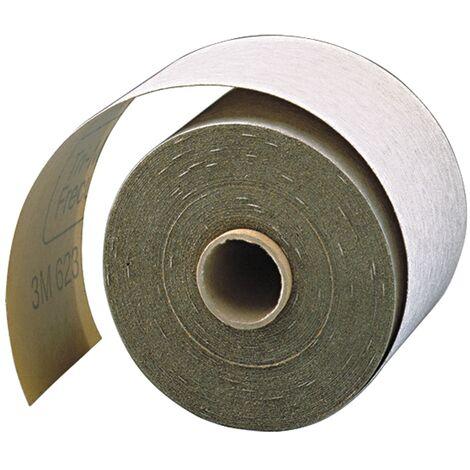 Rouleau de papier abrasif 618 115 mm Granulation 220 p. vernis/métal SiC