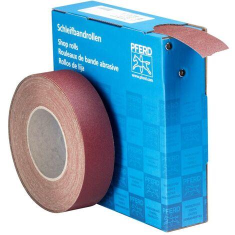 Rouleau de papier abrasif PFERD 45016412 Grain num 120 (L x l) 25 m x 38 mm 25 m