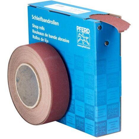 Rouleau de papier abrasif PFERD 45016415 Grain num 150 (L x l) 25 m x 38 mm 25 m